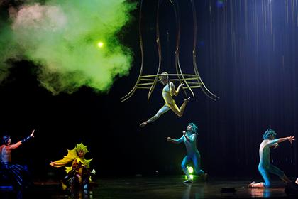 Акробат Cirque duSoleil умер  вовремя выступления