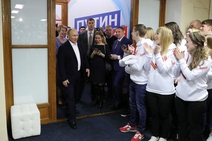Путин заручился рекордной в истории России поддержкой избирателей