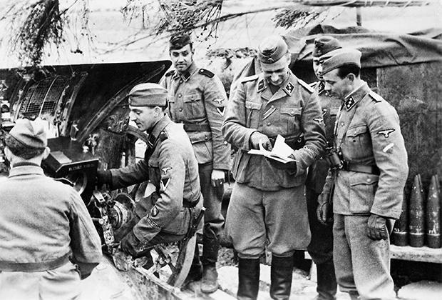 Латышские добровольцы войск СС на Восточном фронте, 1943 год