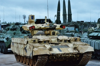 БМПТ «Терминатор-2» поступит навооружение русской армии