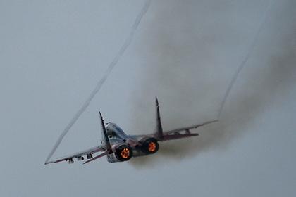 Сирийские военные потеряли первый МиГ-29