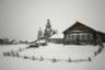 Старинная церковь Иконы Божией Матери Одигитрия в деревне Кимже (Архангельская область), как и все здания вокруг, построена без гвоздей. В 2008 году церковь полностью разобрали с целью реставрации путем полной переборки, в настоящее время ее восстанавливают.