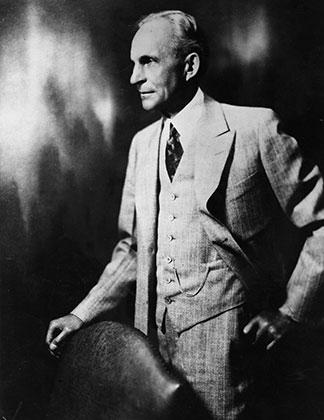 Генри Форд в начале 1920-х