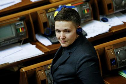 Савченко припугнула депутатов Верховной Рады «бабахом»