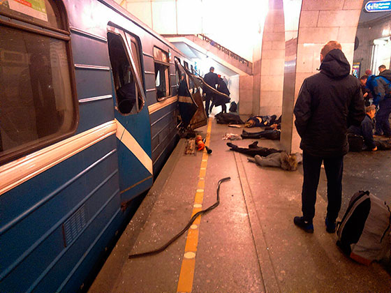 Теракт в Санкт-Петербурге