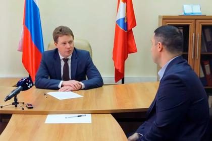 Губернатор Севастополя провел личный прием граждан