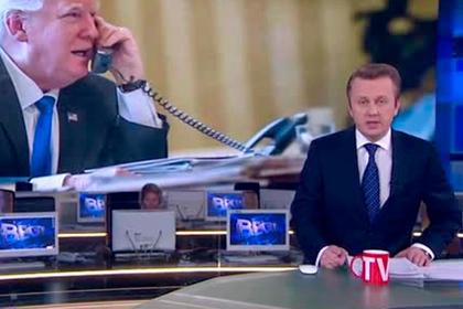 «Россия 1» поздравила Путина с победой на американских выборах