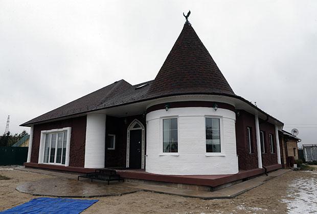первый в России жилого дома, построенного с применением строительной технологии 3D печати.