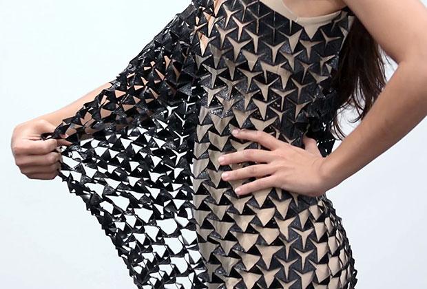 3д платье