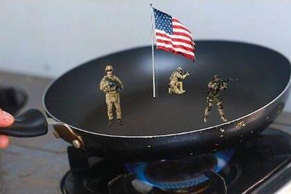 В сети поглумились над любовью американского спецназа к кожному салу и нефти
