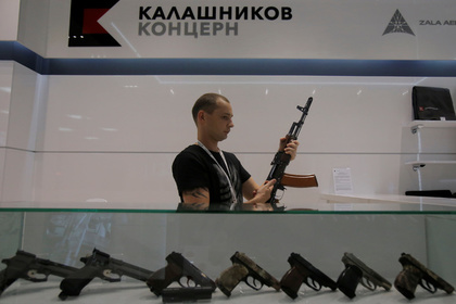 В США заподозрили связь своего «Калашникова» с Россией