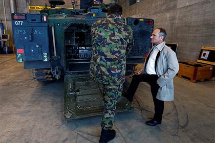 Швейцарию заподозрили в незаконных поставках оружия для ФСО