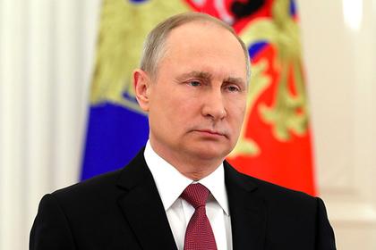 Путин обратился к россиянам после официальной победы на выборах