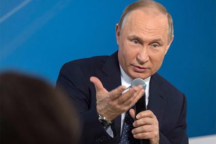 Путин раскрыл главный принцип критики власти