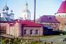 Электростанция Соловецкого монастыря была пущена в работу 27 сентября 1912 года. Мощность электростанции на момент запуска составляла 145 лошадиных сил (л.с.), вырабатывался постоянный ток напряжением 220 вольт. Один генератор приводился в действие гидравлической турбиной Френсиса мощностью 60 л.с., а два других— паровыми машинами мощностью 60 и 25л.с. Основная нагрузка электростанции была силовой и только 14 процентов— осветительной.