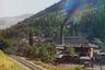 Стеклянный завод в Боржоме заработал в 1890 году. Снимок сделан в 1912 году в поселке Боржом Горийского уезда Тифлисской губернии. Сегодня это город Боржоми Боржомского муниципалитета Грузии.