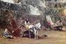 Место съемки — рудник Тяжелый, гора Иркускан близ Бакала, Златоустовский уезд Уфимской губернии. В настоящее время— Саткинский район Челябинской области.