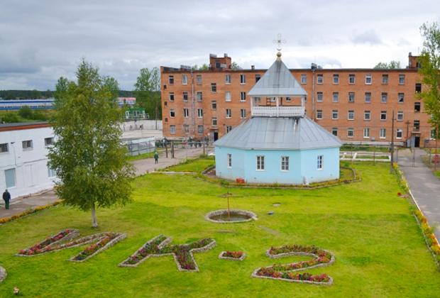 Исправительная колония №2 в поселке Ульяновка (Ленинградская область)