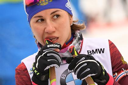 Российские биатлонистки провалили спринт на домашнем этапе Кубка мира