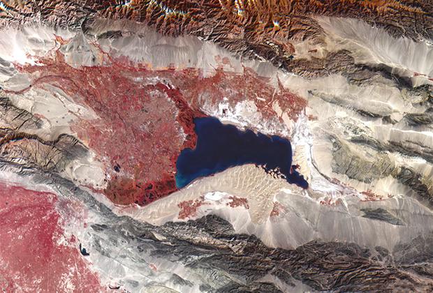 Озеро Баграшкель, Китай