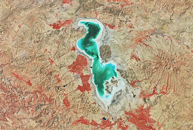 Иран, озеро Урмия
