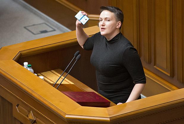 Савченко в Верховной Раде