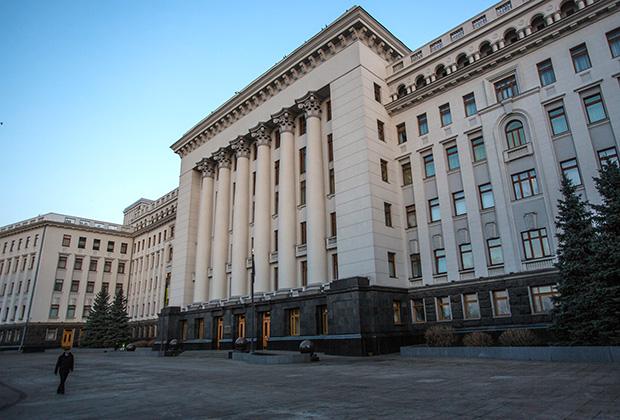 Правительственный квартал в Киеве