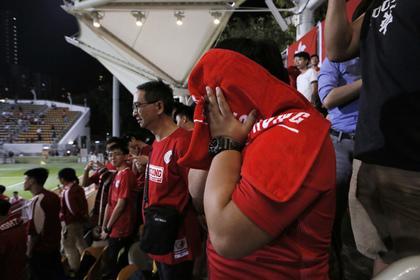 Китайские футболисты статуировками могут быть отстранены отсборной