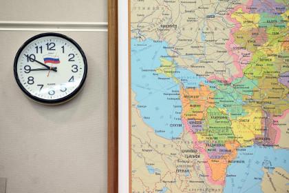 Киев перейдет на московское время