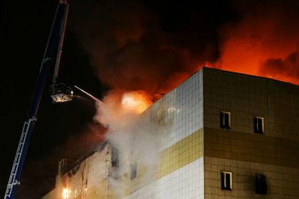 Спасателей экстренно вывели из кемеровского ТЦ