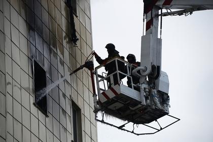 Число жертв пожара в кемеровском ТЦ увеличилось до 48