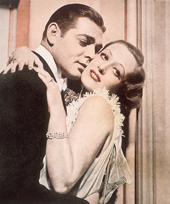Сцена из фильма «Одержимая» 1931 года, в котором Кларк Гейбл сыграл одну из первых главных ролей. Его партнершей стала Джоан Кроуфорд.