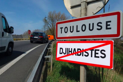 Запрещающие джихадистов знаки появились на дорогах Франции