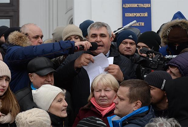 Вице-губернатор Кемеровской области Владимир Чернов