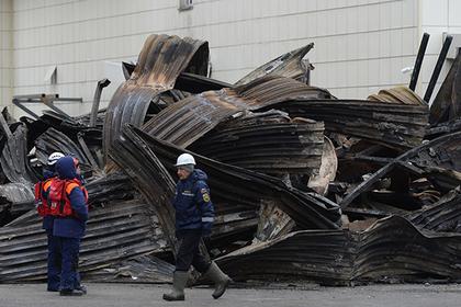 На месте пожара в Кемерове завершена поисковая операция