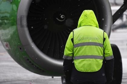 В Домодедово на взлете задымился пассажирский самолет