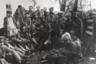 Отряд красноармейцев на советско-польском фронте. 1920.