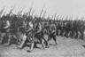 Отряд Красной армии на Украине. 1918.