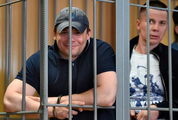 Обвиняемые по делу Шакро во время заседания суда