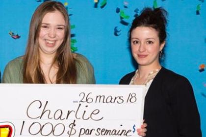 Девушка изКанады выиграла влотерею пожизненное еженедельное пособие