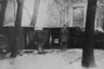 Оборона Петрограда. Артиллерийская установка в Александровском саду. Октябрь 1919-го.