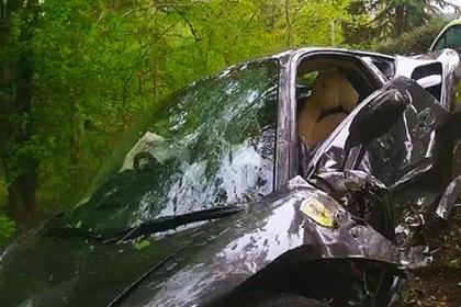 Британец разбил роскошный Ferrari зятя-футболиста через три часа после покупки
