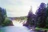 Кивач — крупный и широко посещаемый водопад на реке Суна. Упоминается с 1566 года. Высота общего падения воды 10,5 метра.