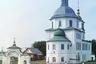 Построена между 1788 и 1820 годами. В 1961-м затоплена и разрушена. Останки церкви можно видеть на отмели Шекснинского водохранилища в Белозерском районе Вологодской области.