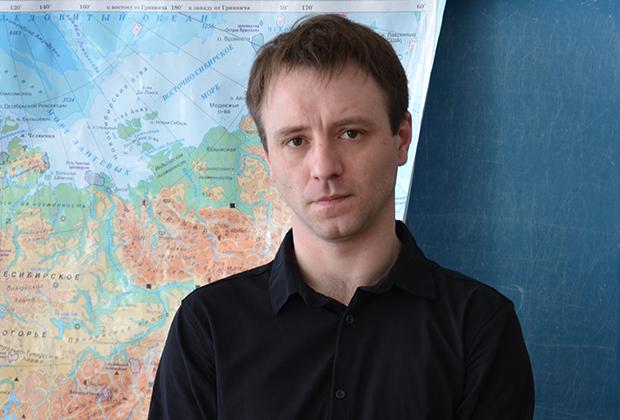 Директор школы Павел Павлович Орлинский