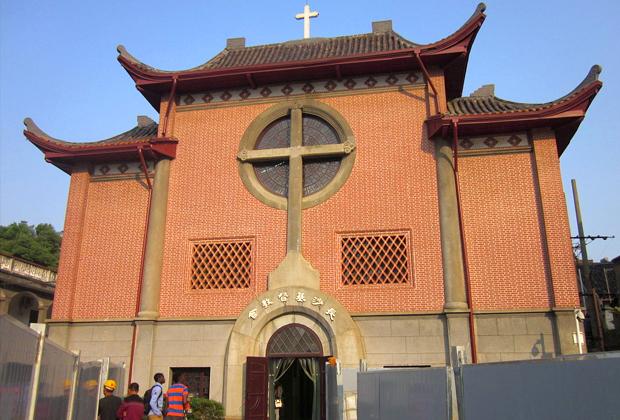 Христианский храм в городе Чанша