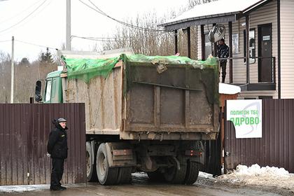 В Кремле прокомментировали ситуацию со свалкой в Волоколамске