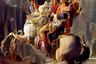 """Искусственный интеллект, в отличие от человека, не фантазирует, а лишь изучает показанные картины и пытается повторить приемы художников. Иногда результат выходит ошеломляющим. К примеру, эта работа нейронных сетей, обученных Виктором Эспинозой, лишь на первый взгляд напоминает нарисованного Наполеона Бонапарта. По признанию пользователей <a href=""""https://www.reddit.com/r/pics/comments/5ptygn/working_with_ai_ive_created_this_art_by_accident/?st=jfdsremr&sh=42ac709d"""" target=""""_blank"""">Reddit</a>, чем дольше смотришь на нее, тем меньше смысла в ней видишь. <br> <br> Эспиноза не просто экспериментирует с обучением нейронных сетей, а продает результаты в качестве законченных произведений."""