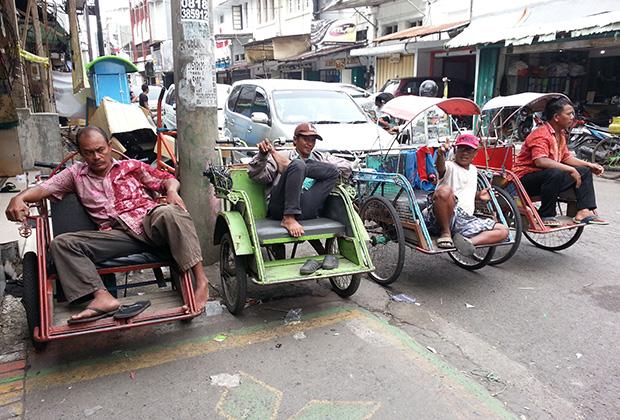 Таксисты Джакарты