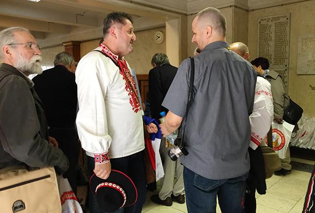 Делегаты Всеславянского съезда 2017 года